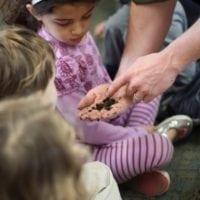 ילדים לומדים על תולעים - חביתותים